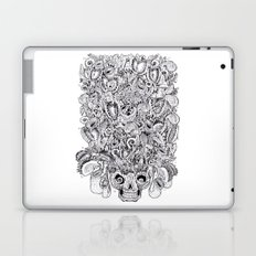 Carnivore flowers Art t-shirt Creative t-shirt personalized t-shirt Drawing t shirt Abstract shirt Laptop & iPad Skin
