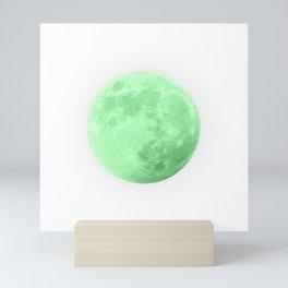 LIME MOON Mini Art Print
