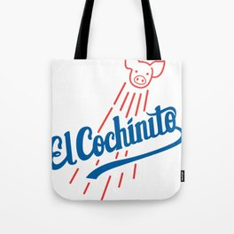 El Cochinito LA logo Tote Bag