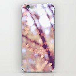 Glitter in the air iPhone Skin