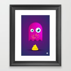 Game Over Pac. Framed Art Print