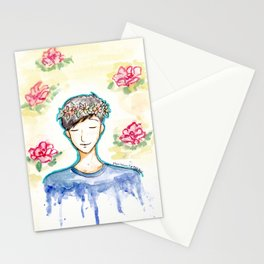 Phil Lester - Flowers Stationery Cards