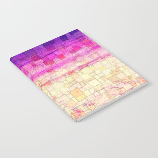Pink Sea Mosaic Notebook