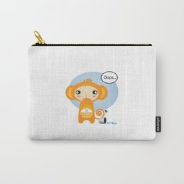 Oopsie Monkey Carry-All Pouch
