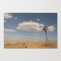country Canvas Prints featuring Country by Lorryn Smit