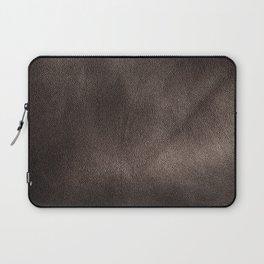 Leather*Trompe l'oeil Laptop Sleeve