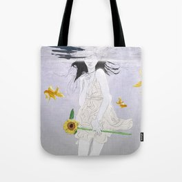 water planet Tote Bag
