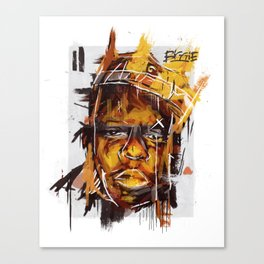 Biggie Digital Painting Canvas Print