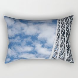 ARCH ABSTRACT 3: SkyTree Tower, Tokyo Rectangular Pillow