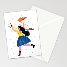 Your Own Personal Cheerleader Stationery Cards