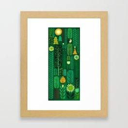 Sacred Forest Framed Art Print