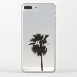 Sun Palm Clear iPhone Case