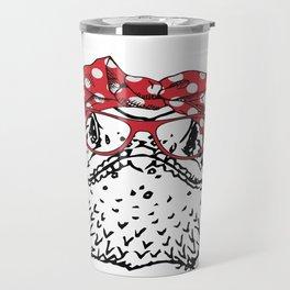 Bearded Dragon Mom Travel Mug
