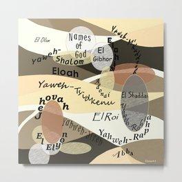 Names of God Metal Print