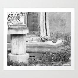 grave Art Print