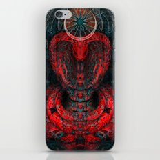Seen Through Flames and Ashes iPhone & iPod Skin