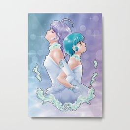 Creamy X Yuu Metal Print