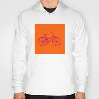bicycle Hoodies featuring Bicycle by Mr and Mrs Quirynen