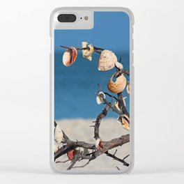 Echoes in the Wind Clear iPhone Case