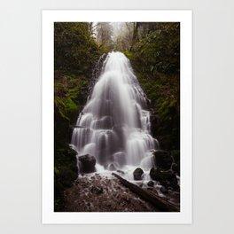 Fairy Falls, Oregon Art Print