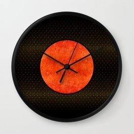 """""""Black Moon Sabana"""" Wall Clock"""