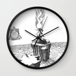 unseen overpasses Wall Clock