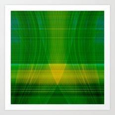 green hope Art Print