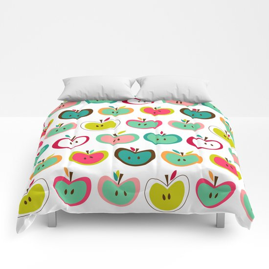 Cute Apples  Comforters