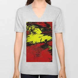 As Light Breaks Unisex V-Neck
