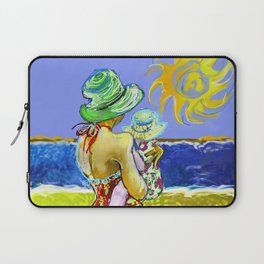 'Mary and Max' (Saw Sea Art Series) Laptop Sleeve