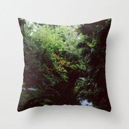 Swiss Family Treehouse Throw Pillow