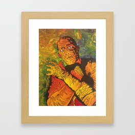 The Mummy Framed Art Print