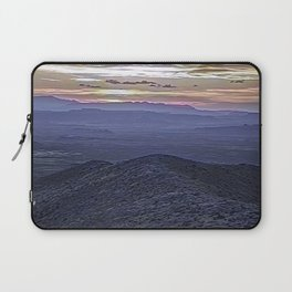 Landscape with Mountains and Modifications Laptop Sleeve
