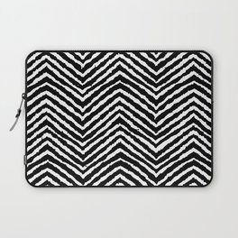 Chevron, Abstract, Minimal, Pattern, Nursery, Kids, Modern art Laptop Sleeve