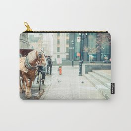 Montreal Taxi Carry-All Pouch