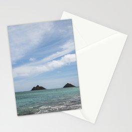 Lanikai Beach, Kailua, Oahu, Hawaii Stationery Cards