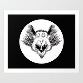Wild Cat.  Art Print