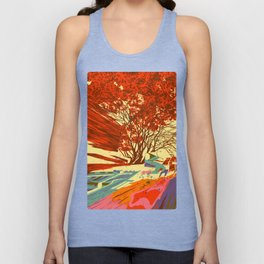 A bird never seen before - Fortuna series Unisex Tank Top