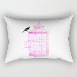 Brooke Figer - PRETTY smart BIRD Rectangular Pillow