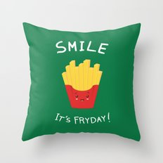 The best day! Throw Pillow