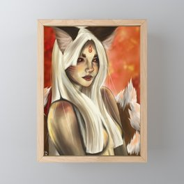 Kitsune: Stage 3 Framed Mini Art Print
