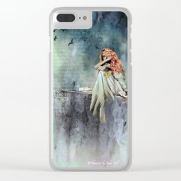 Cliffs of Dover Clear iPhone Case