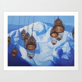 Future Memories (Milk Lake Glacier) Art Print
