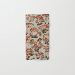 A Series of Mushrooms Hand & Bath Towel
