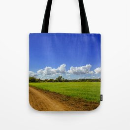Rice Field Tote Bag