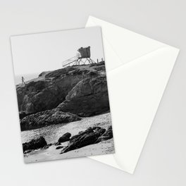 Leo Carrillo State Beach | Malibu California | Black and White Photography | Malibu Photography Stationery Cards