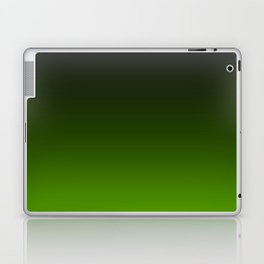 Ombre Lemon Green Laptop & iPad Skin