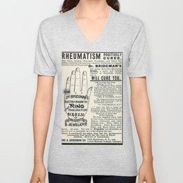 Righteous Rheumatism Unisex V-Neck