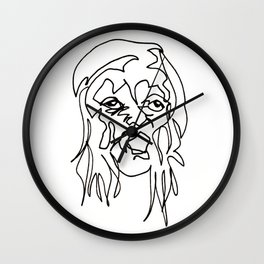Tenement Lady Wall Clock