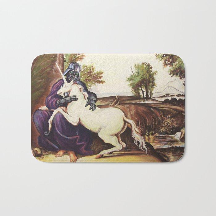 The Darkside of the Unicorn Bath Mat